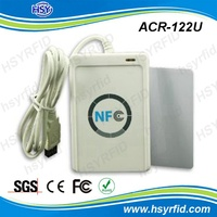 ACR122U 13.56Mhz USB interface c# code rfid proximity card reader with SDK