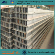 Structural steel column perforated building h beam a572 a992 h steel