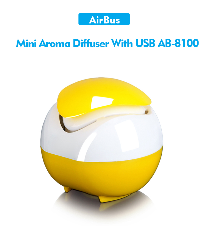 Mini atomization humidifier led diffuser aroma diffuser