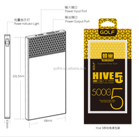 new design for Power Bank 5000mah High Capacity for mobile phone case power bank