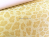 Yanbuck Printed pu synthetic leather Nonwoven leather materials for shoes 4 Types