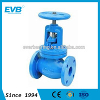 Stainless Steel/Cast Steel Angle Rising Stem Flange End Globe Valve
