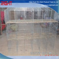 build rabbit cages wire roll wholesale, metal rabbit cage