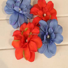 Wholesale Elegant Mini Artifical Flower, Beautiful Flower For Girls Hair accessory