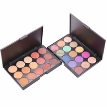 Private Label makeup vegan eyeshadow palette 15 colors