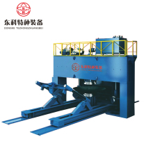 Hydraulic Oval Tank Head Pressing Machine and Dished End Configuring Machine Tool Equipment