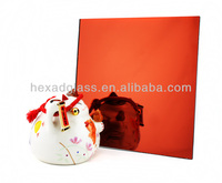 Orange Silver Coated Mirror with high qualityy