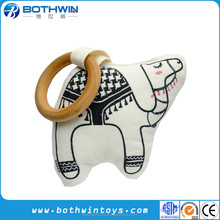 Eco Friendly Organic Cotton Camel Animal Muslim Baby Teeth Rattle toy