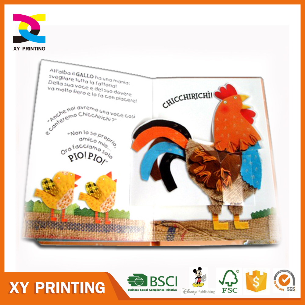 Professional fancy design Children pop up book printing with competitive price