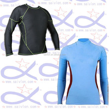 Wholesale Long Sleeve Surf T-Shirt / UV Protection Rash Guard