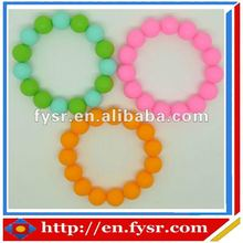 Colorful fashion Silicone sports beaded band