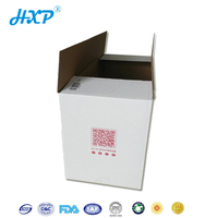 Custom design packaging corrugated paper printed logo mail box