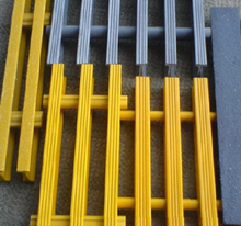 Plastic Walkway Gratings Heavy duty pultruded FRP grating