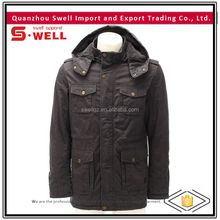 new style windproof washed long jacket for men