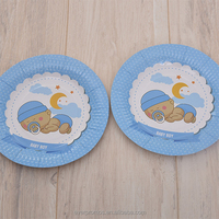 New product pumpkin paper plates