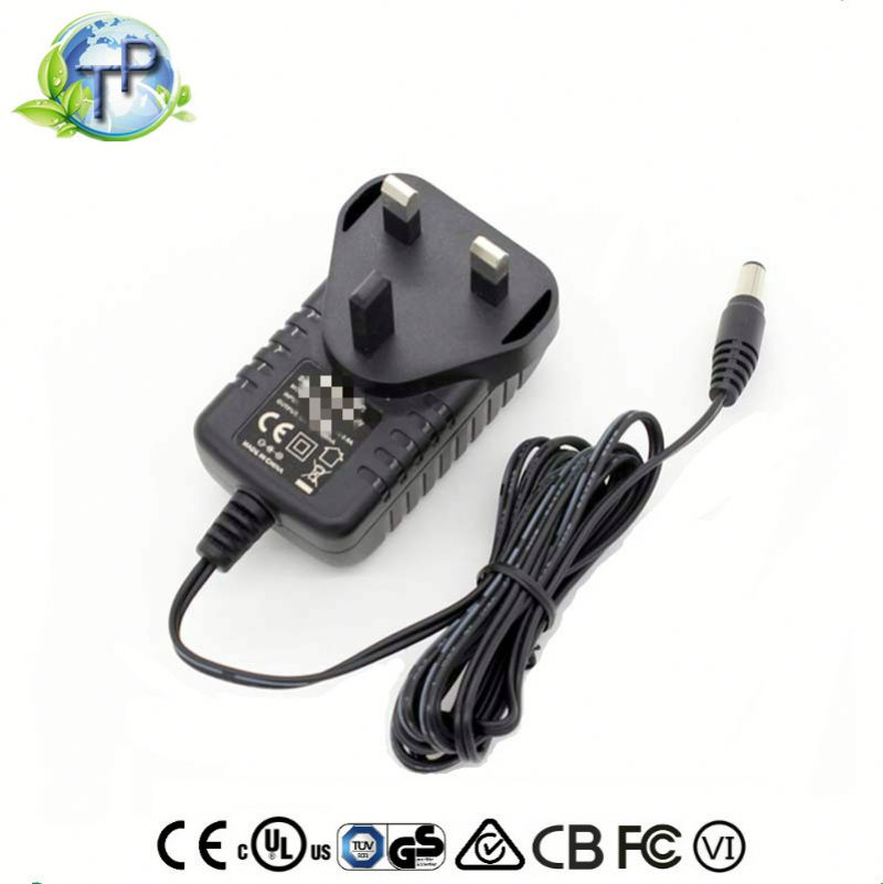 DC Output Type and Plug In Connection 24v 1a Power Adapter For Cctv System