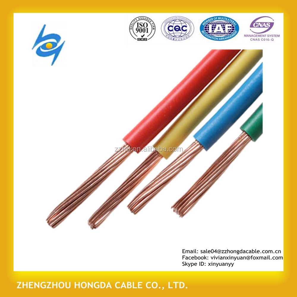 1.5mm 2.5mm 4mm 6mm unipolar electrical cable roll normalized electricity Cable Unipolar Flexible