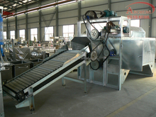 automatic screw dehairing/debristling machine for slaughterhouse/pig slaughter machine