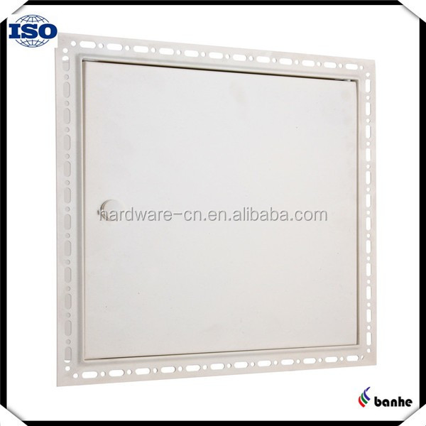 Aluminum access door moisture proof custom made with white powder coating