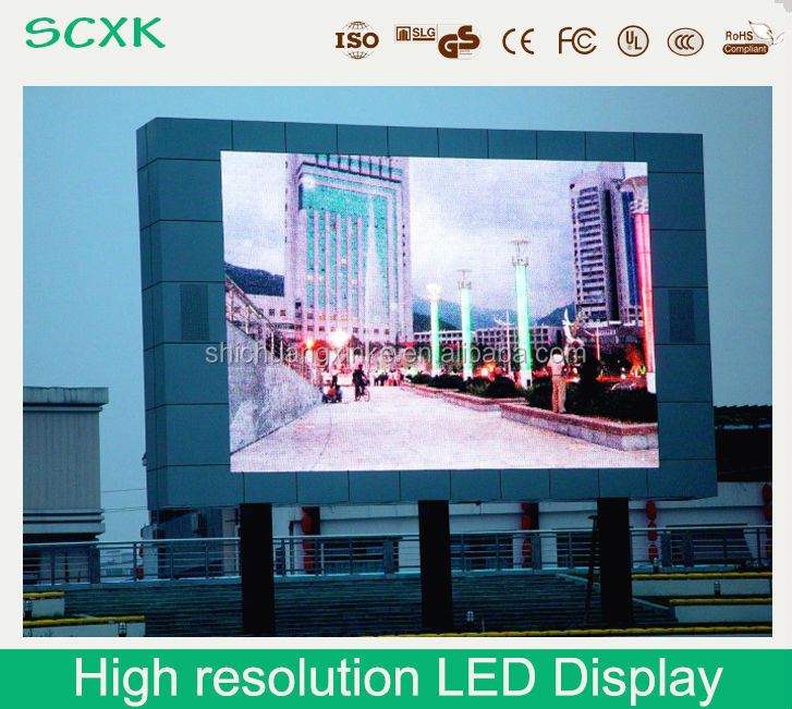 high resolution led display screen wall synchronous led display bill
