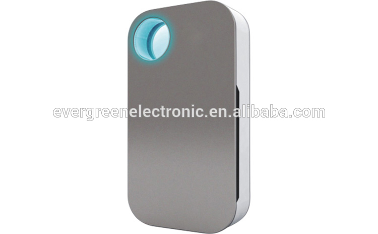 portable ionic air purifiers with LED light