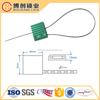 Worth Buying Aluminum Cable Seals With Galvanized Steel Wiredisposable security seal