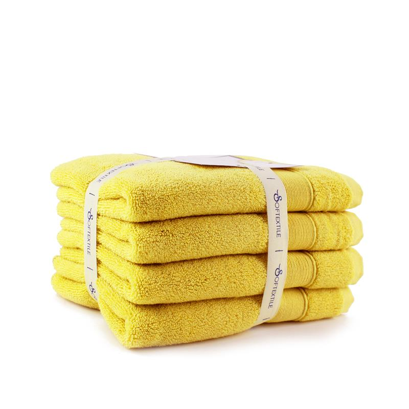 White Cotton <strong>Face</strong> & Hands Towel Quick-drying Antibacterial hand towel
