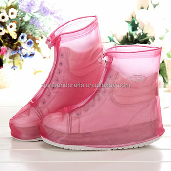 2015 Factory non-disposable thicken sole non slip plastic overshoes