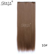 Best One Piece Clip In Remy Human Hair Extensions Full Head for short hair