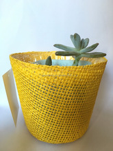 Very Cheap yellow paper flower pot covers ESF0146
