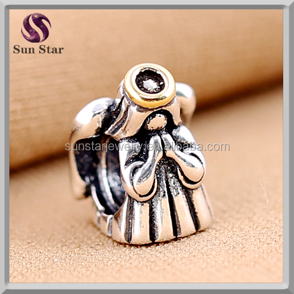 Custom Sterling Silver Charm islamic prayer beads wholesale angel charms wholesale