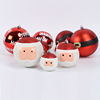 new hot items for 2015 hand painted decorative satin cheap craft shopping mall showcase giant christmas ball