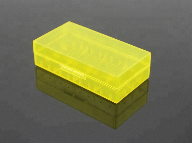 Good quality cells holder 2*18650 18650 battery case PVC battery case