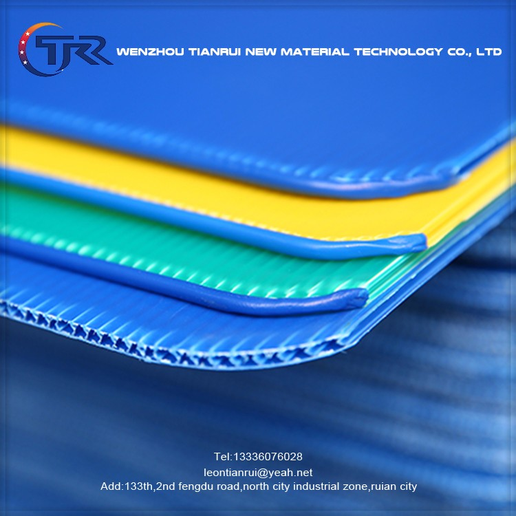 Hollow Structure Fire Retardant Uv Resistance Corrugated Plastic