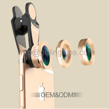 HD Universal Optical Zoom Telescope Camera Lens For Mobile Phone Smart Phone0.36X WIDE ANGLE 198DEGREE FISH EYE 15X MACRO LENS