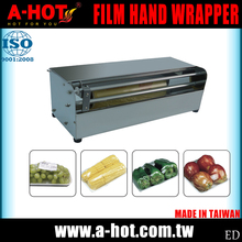 Taiwan Stainless Steel Non Electric Film Hand Wrapper With Cutter