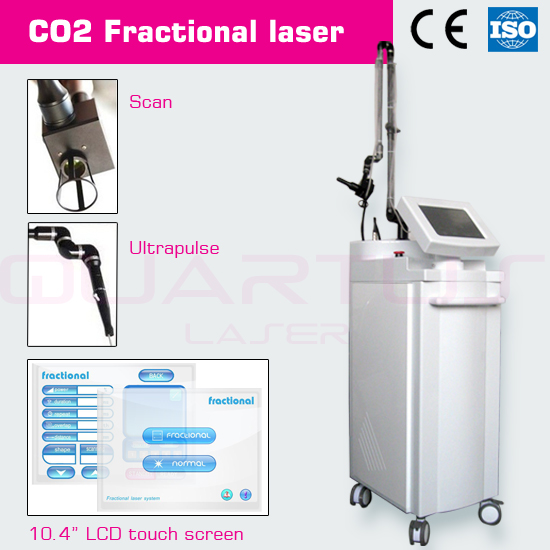 USA RF Fractional CO2 laser metal tube stress incontinence
