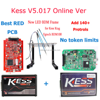 Best LED bdm frame Full Kit and Original kess v2 V5.017 ktag 7.020 fgtech galletto 2 BDM100 ecu repair progamming tools manual