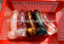 Natural rock clear quartz crystal dildos,gemstone carved sexy women dildos,crystal penis for sale