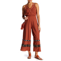 Ladies Spaghetti Retro Jumpsuits for Women