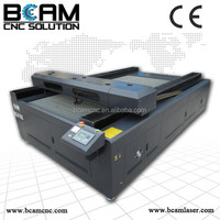 China equipment Cheap leather label wood CO2 acrylic laser engraving cutting machine Price