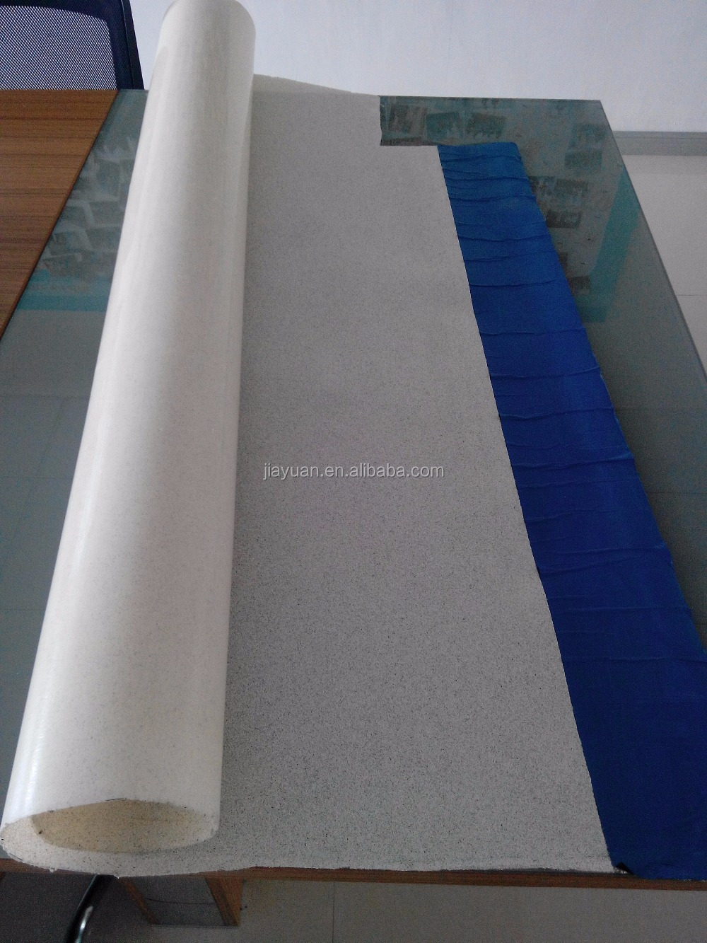 Industry Non-asphalt high polymer membrane (CPE, PE TPO membrane) waterproof rolling material coating machine