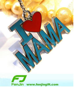 manufacture novelty metal i love mama mother day gifts