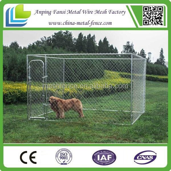 Galvanized metal dog cage wholesale custom panel sizing dog cage