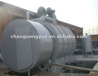 2012 new design waste tyre pyrolysis fuel oil plant / tire pyrolysis oil plant