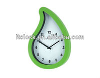 Gift clock water drop design