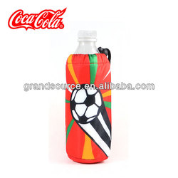 Eco-friendly and Fashion Bottle Cooler with Drawstring Closure