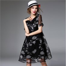 Women Casual One Piece Woman Girl Flower Fancy Dress M In Floral Print Competition