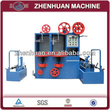 High speed twin-head vertical wire taping machine