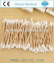 High quality best selling 100% cotton dental swabs
